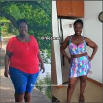 Mecca lost 123 pounds
