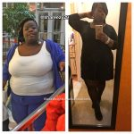 Sharonda lost 81 pounds