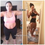 Tanisha lost 35 pounds