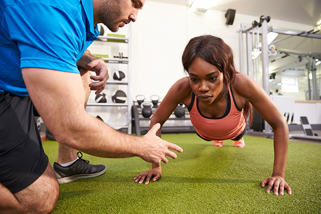 before hiring a personal trainer