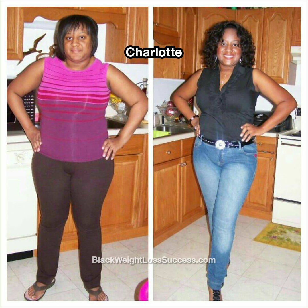 charlotte before and after