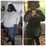 Loretha lost 87 pounds