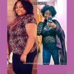 Nicole lost 55 pounds