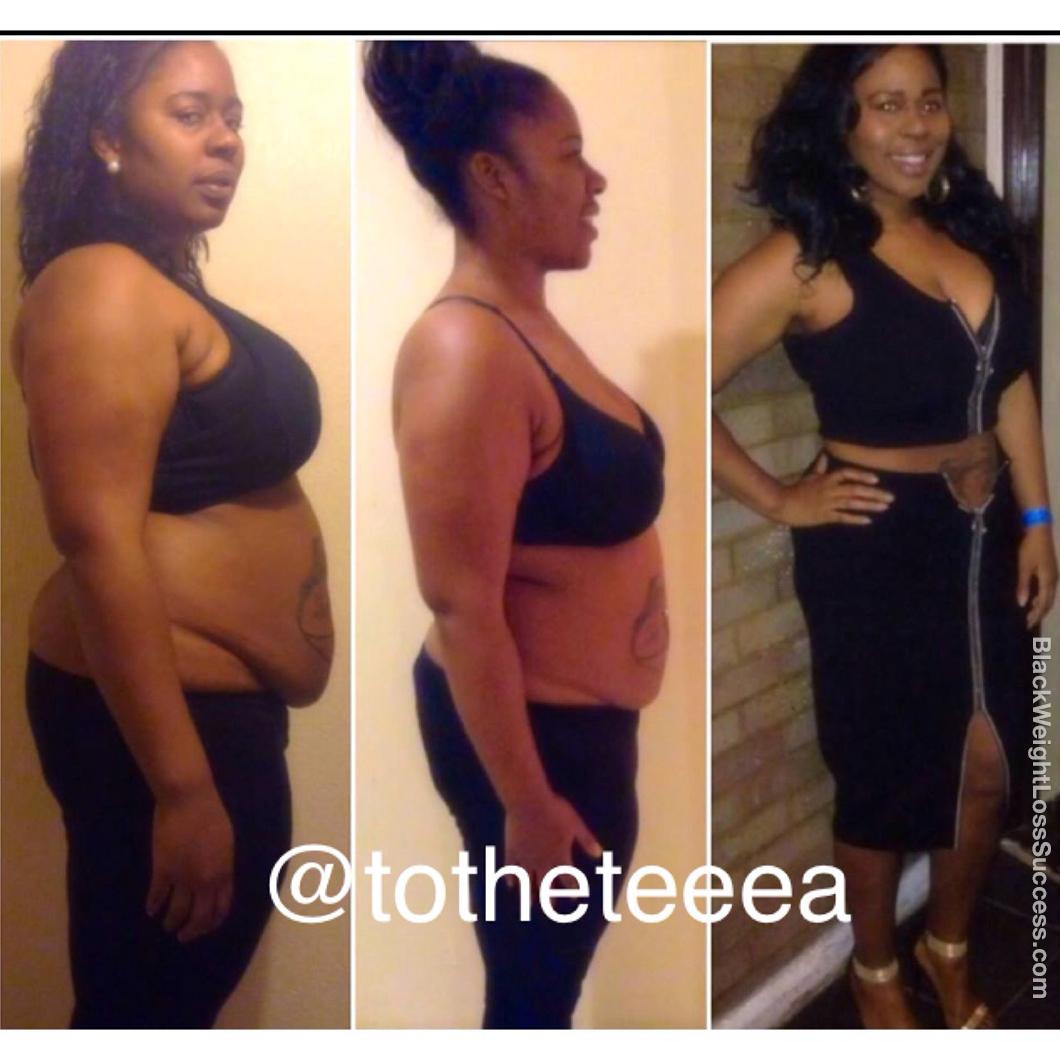 Tenika's weight loss story