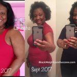 La Tasha lost 31 pounds