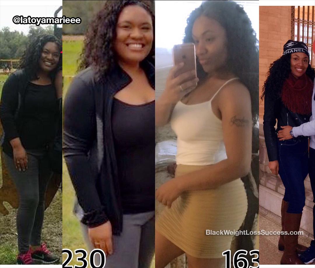 Latoya lost 80 pounds  | Black Weight Loss Success