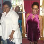 Lorinell lost 65 pounds