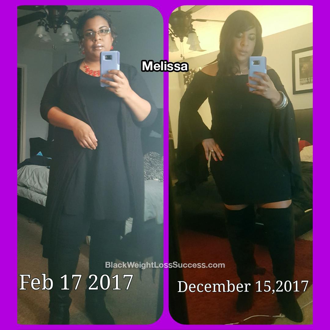 Melissa weight loss journey