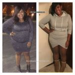 Monea lost 107 pounds
