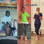 Nozipho lost 102 pounds