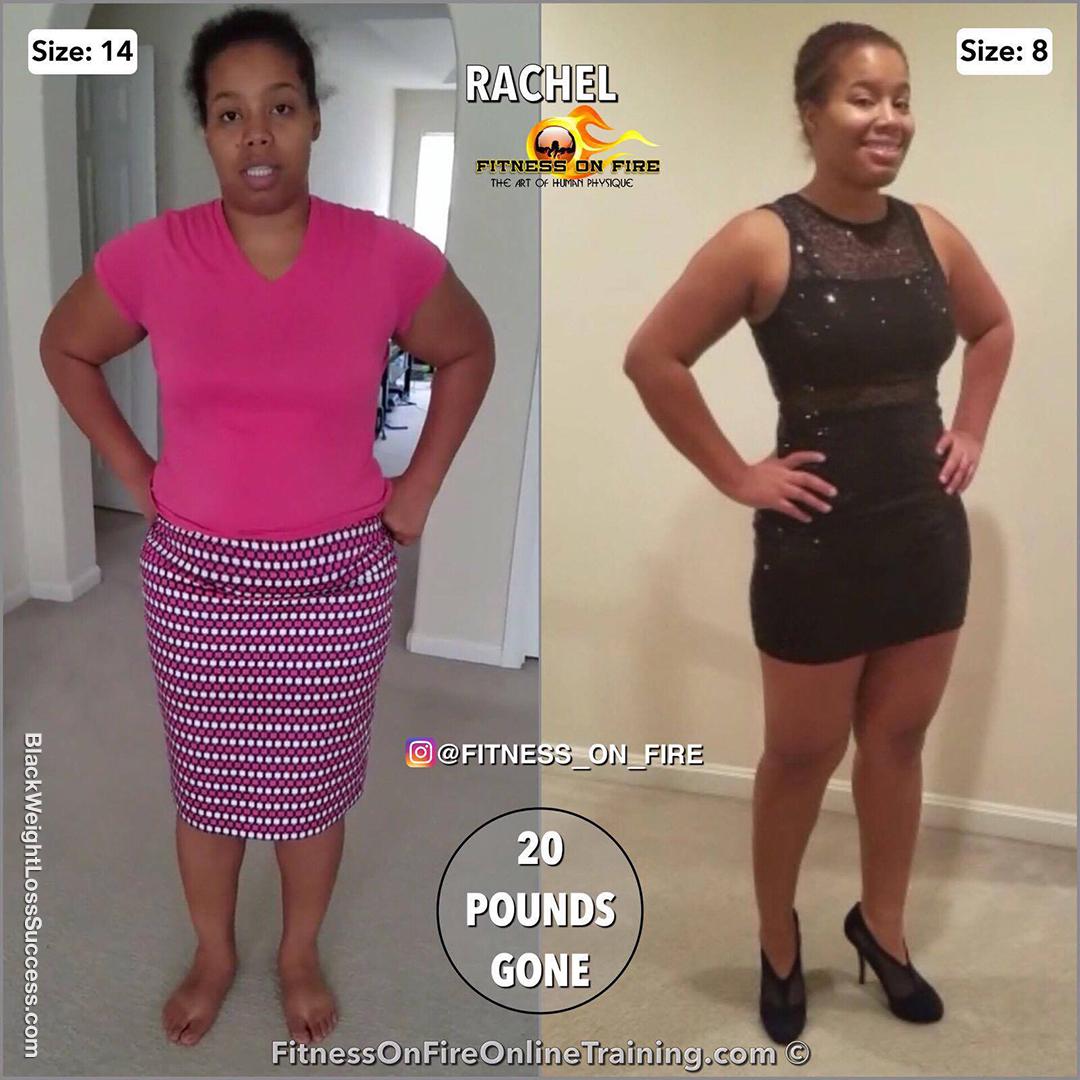Rachel weight loss story