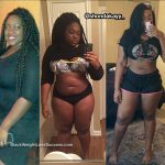 RahShonda lost 55 pounds