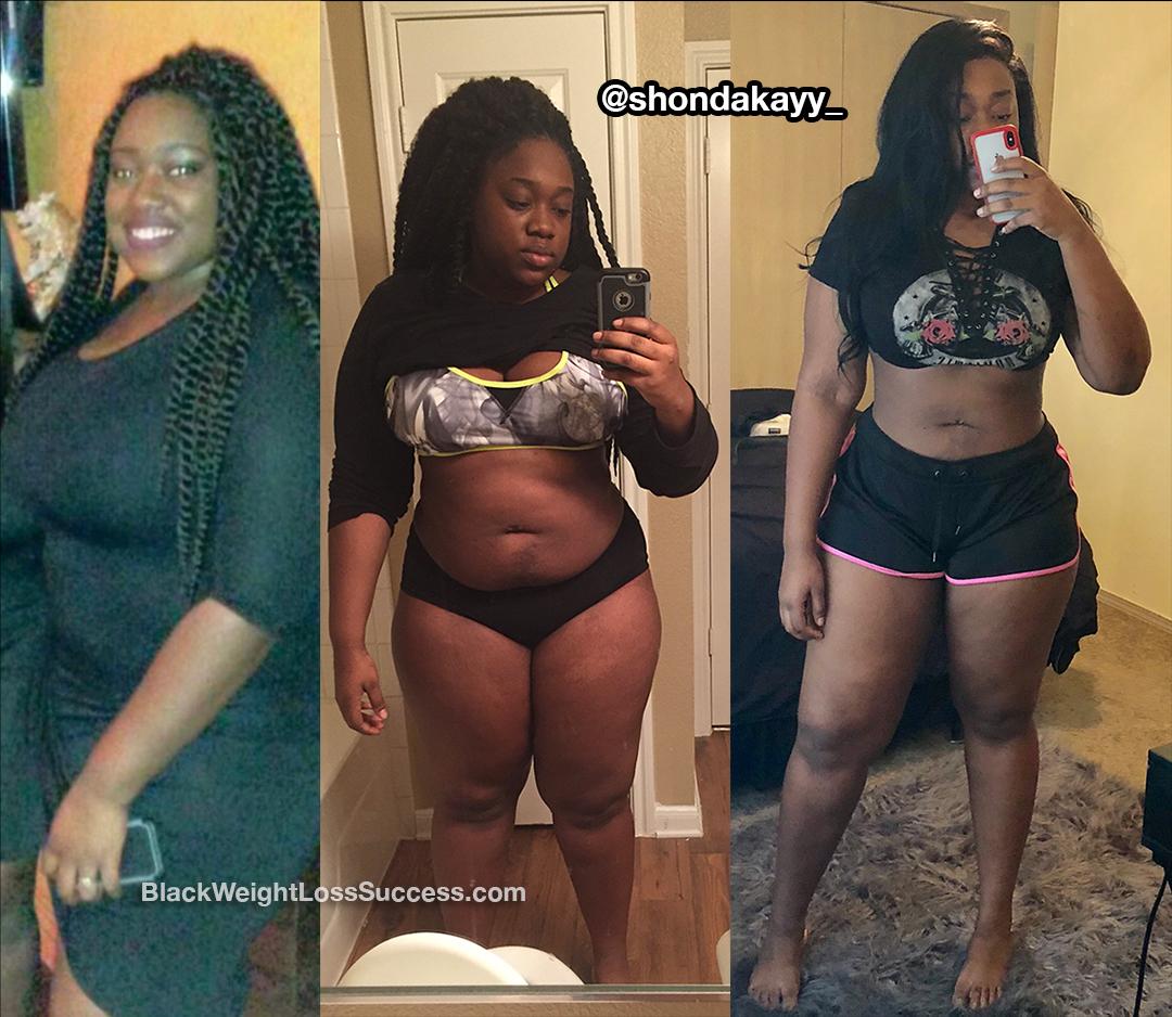 RahShonda weight loss story