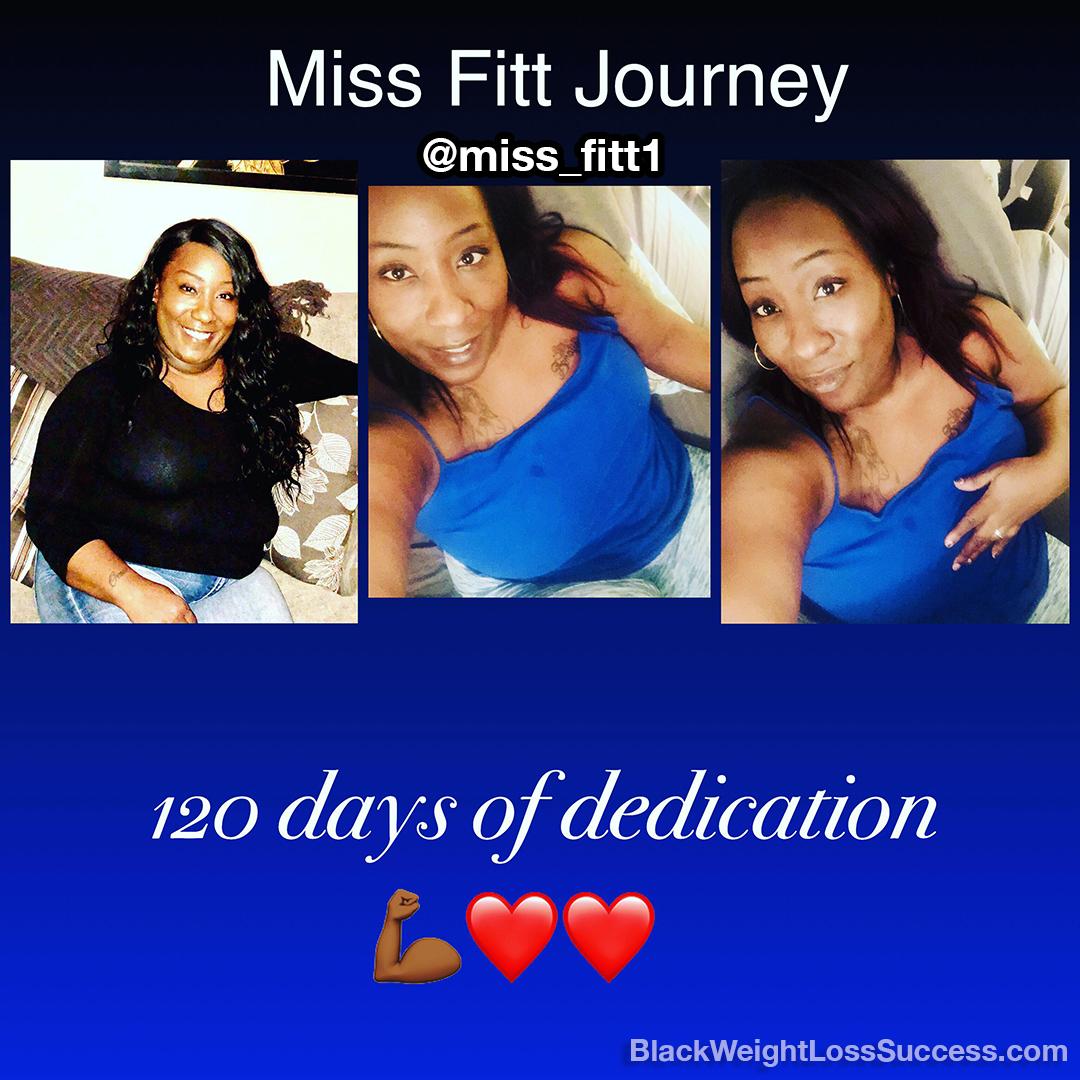 Tamika's weight loss story
