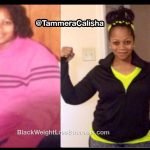 Tammera lost 102 pounds