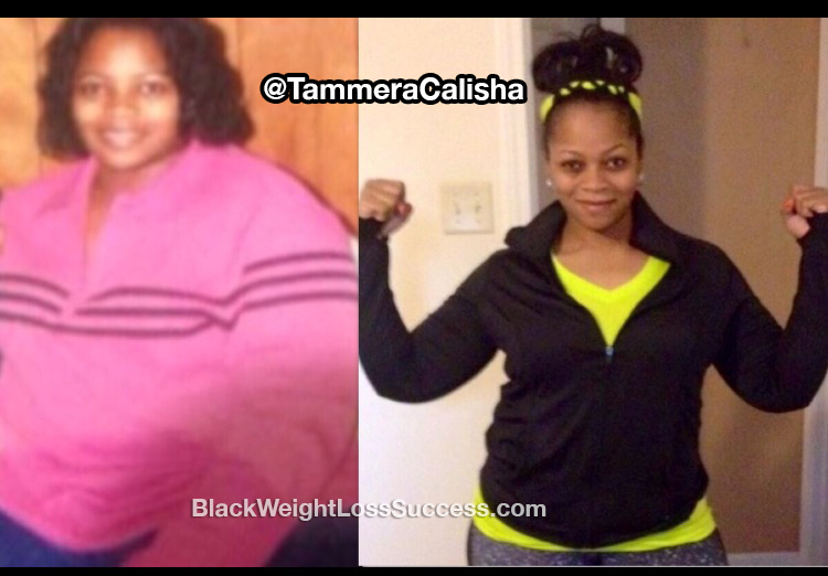 Tammera before and after