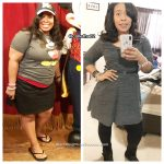 Veronica lost 53 pounds