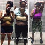 Anika lost 50 pounds
