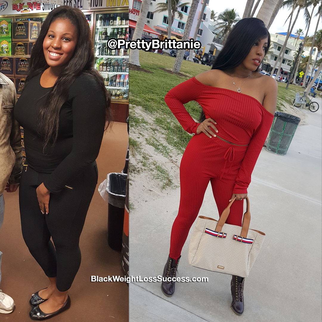 brittanie before and after