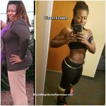 Dee lost 53 pounds