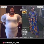 Kimberly lost 60 pounds