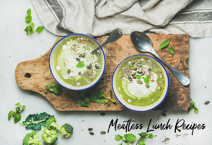 meatless lunch recipes