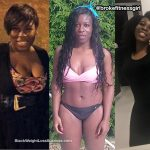 Shakerah lost 28 pounds