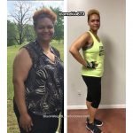 Amekia lost 118 pounds