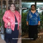 angelia before and after