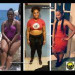Ashley lost 98 pounds