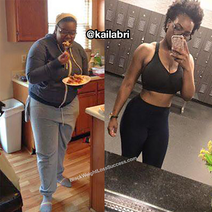 kaila before and after