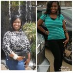 Kierra lost 65 pounds
