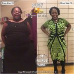 Ruby lost 52 pounds