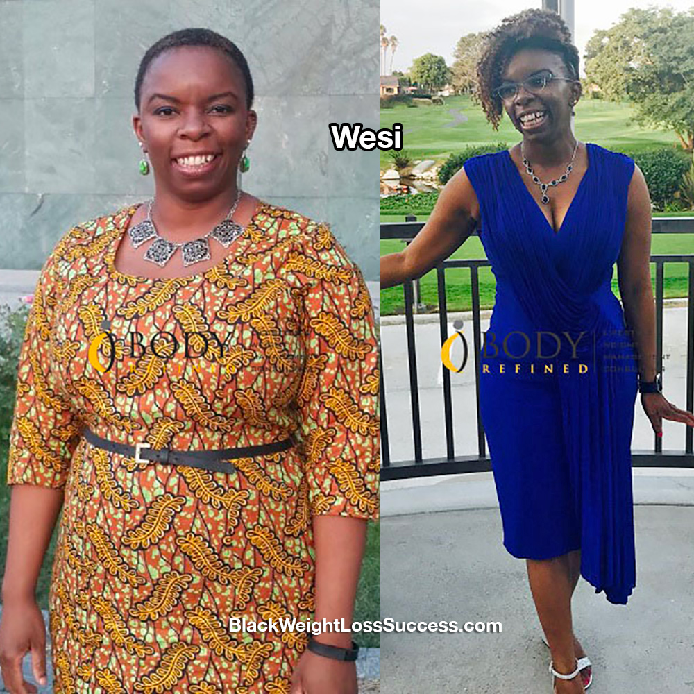 wesi before and after