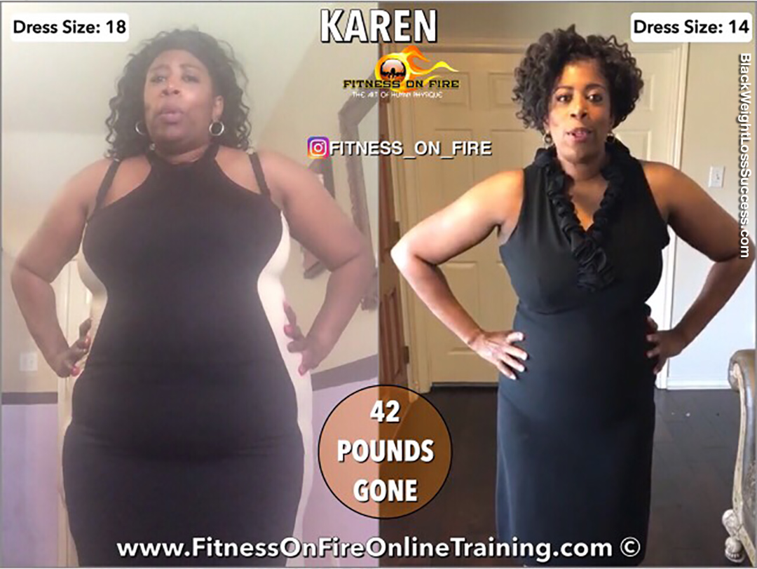 karen before and after