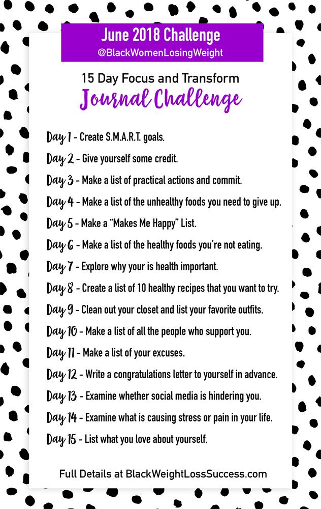 june journal challenge