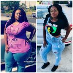 Marea lost 108 pounds