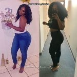 Shanice shares how weight training has changed her body