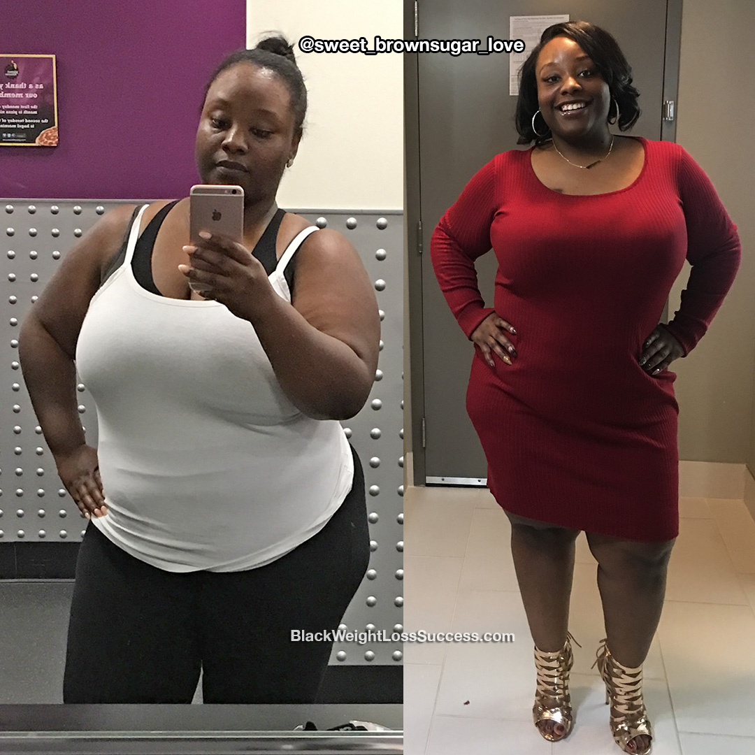 Shatina lost 50 pounds | Black Weight Loss Success
