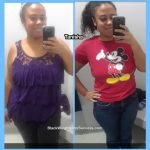 Tanisha lost 65 pounds