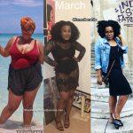 Arielle lost 55 pounds