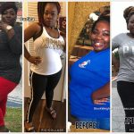 Curtina lost 55 pounds