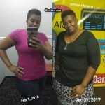 Odamise lost 52 pounds