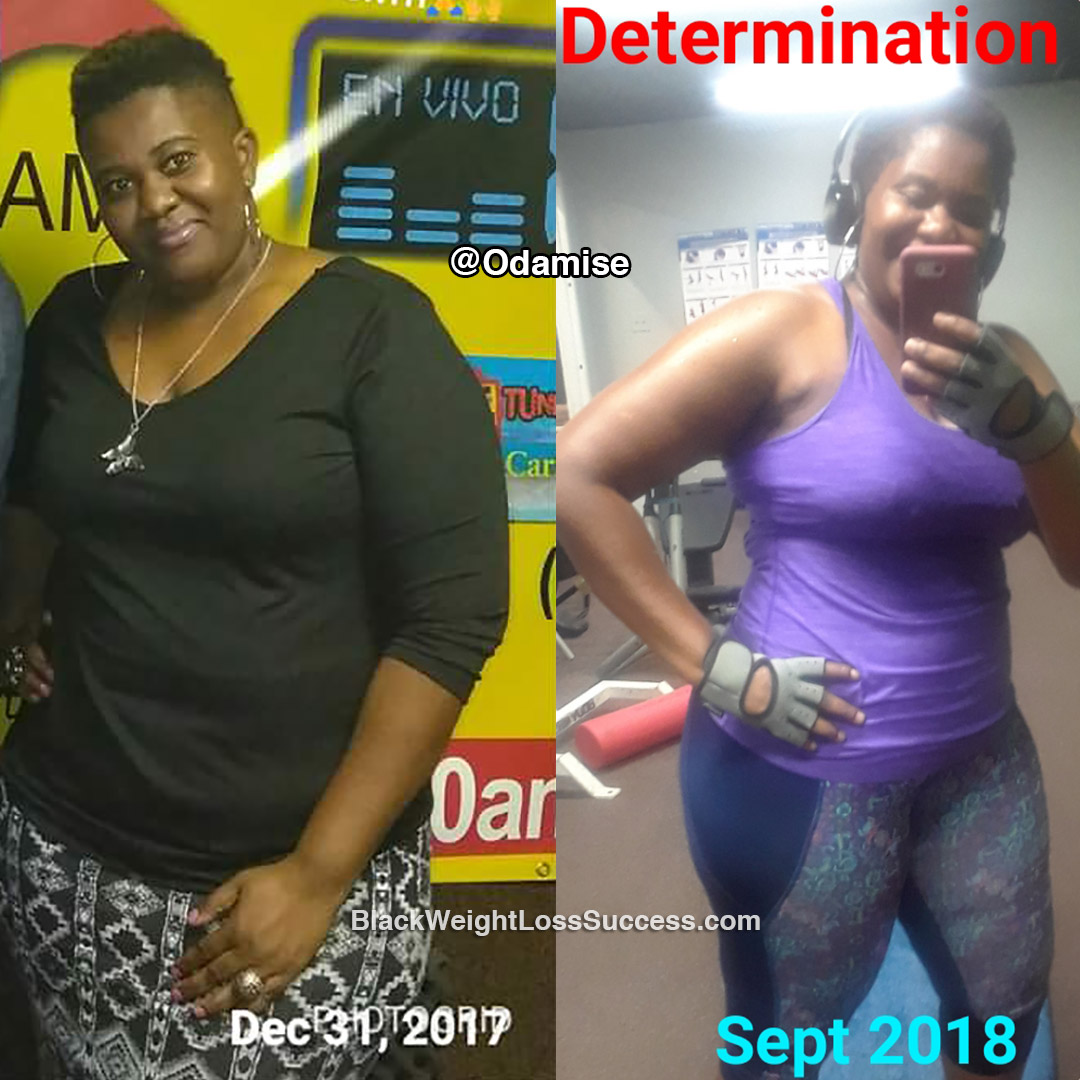 Odamise before and after