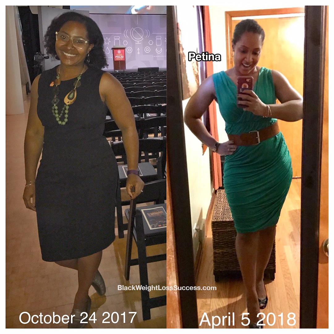 petina before and after