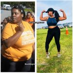 Ronieka lost 73 pounds