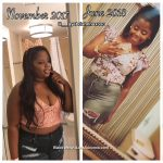 Abrianna lost 40 pounds