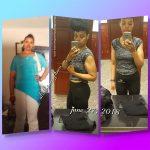 Alisha lost more than 80 pounds