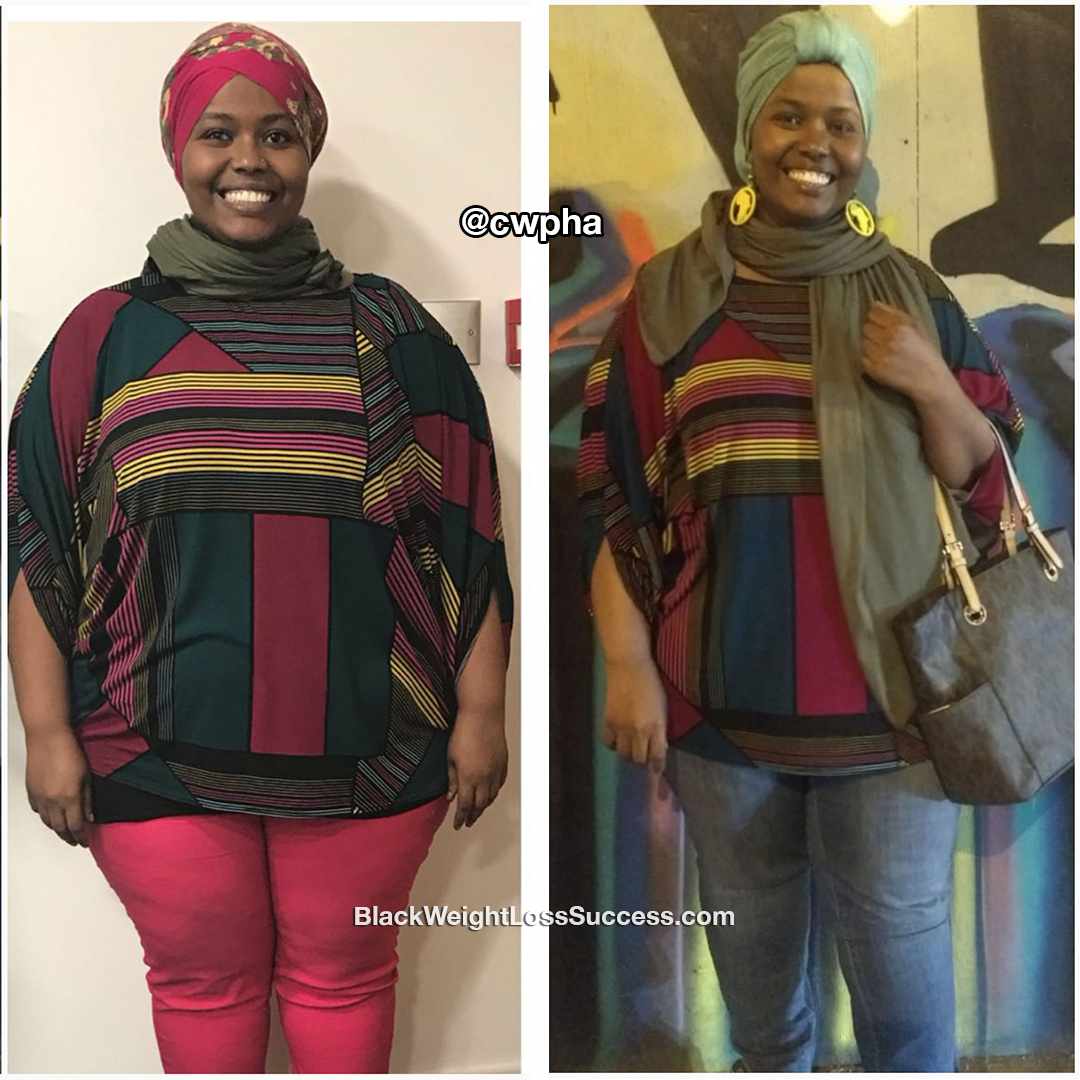 Halima before and after