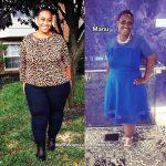 Marsi lost 52 pounds